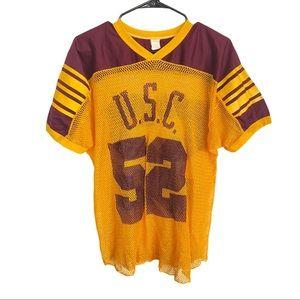 🍋Vintage USC Mesh College Trojans Football Jersey